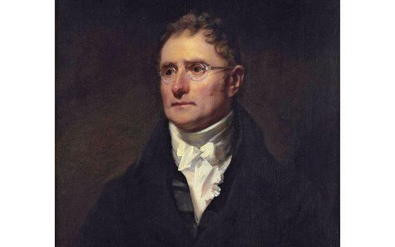 A portrait of George Thomason by Henry Raeburn.