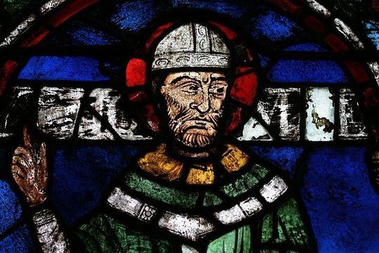 Sir Thomas Becket at Canterbury Cathedral.