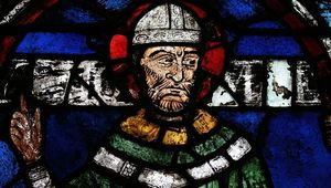Sir Thomas Becket at Canterbury Cathedral.