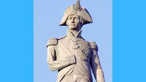 Viscount Horatio Nelson (1758 - 1805).