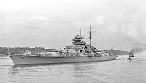 The Bismarck.