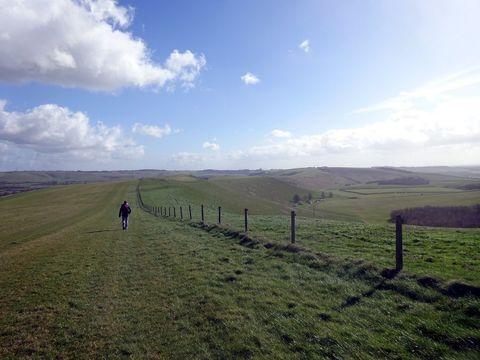 Smeathe\'s Ridge, the Malbourough Downs.