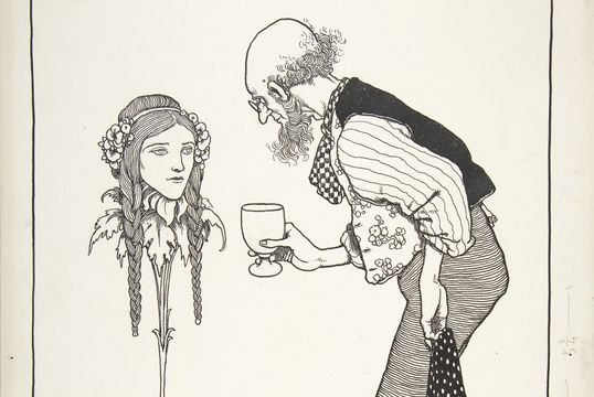 """Hitherto I Have Performed it Myself\"": Six Dead Secrets, Topsy-Turvy Tales, by William Heath Robinson."