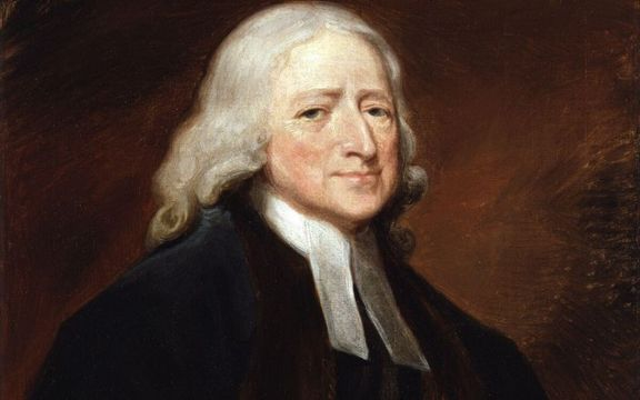 John Wesley, the founding father of the Methodist Church, pulled from fire.