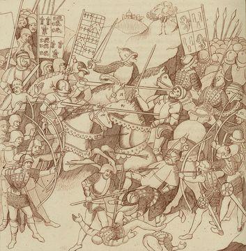 The Battle of Shrewsbury.
