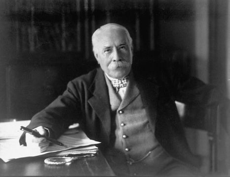 Edward Elgar photographed in 1931.