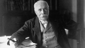 Edward Elgar photographed in 1931.