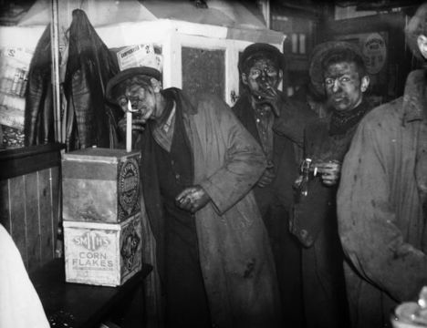 Welsh miners.