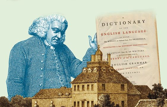 Dr. Samuel Johnson, become England's most important 18th-century men of letters.