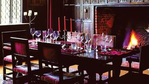 The Parlour shares the ground floor of the manor's oldest wing with the Great Hall.