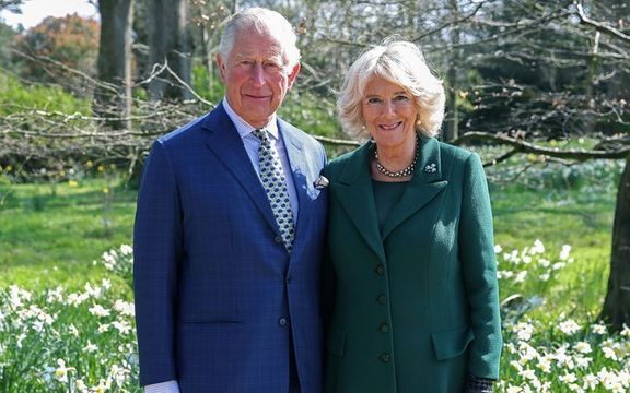 Prince Charles, Prince of Wales and Camilla, Duchess of Cornwall.