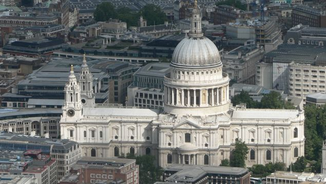 St. Paul\'s Cathedral, in London.