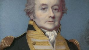 Thumb portrait of rear admiral william bligh by alexander huey  en 1814 national library of australia