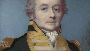 Portrait of Rear Admiral William Bligh.