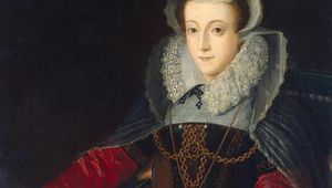 A portrait of Mary Queen of Scots from the Hermitage Museum.