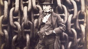 Thumb robert howlett   isambard kingdom brunel and the launching chains of the great eastern   google art project