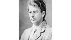 The inventor of television, John Logie Baird.