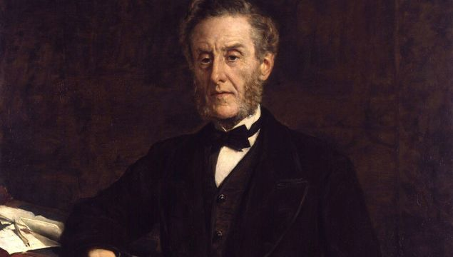 Anthony Ashley-Cooper, 7th Earl of Shaftesbury, a painting by John Collier.