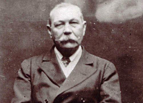 Sir Arthur Conan Doyle.