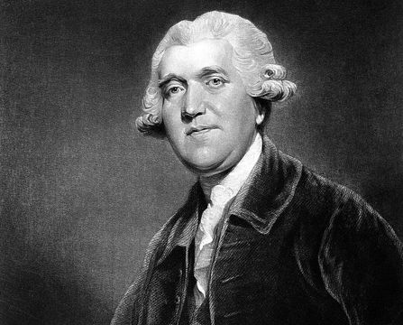 Josiah Wedgwood the man behind the famous Wedgwood pottery.