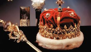 The gift of a golden scepter by Pope Alexander VI to King James IV in 1494 began the priceless collection known as the Honours of Scotland. After a long and colorful history, the Honours of Scotland rest on display in Edinburgh Castle atop the Royal Mile in Scotland's capital city.