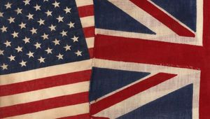 Stars and stripes and the Union Jack: The US and UK\'s special relationship.