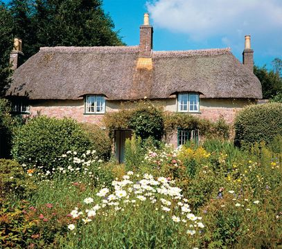 A picturesque cottage in Dorchester, Dorset.