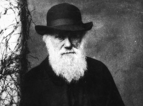 Author of On the Origin of Species, Charles Darwin.