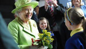 Queen Elizabeth II in Belfast.
