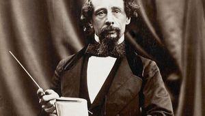 The great British writer, Charles Dickens.