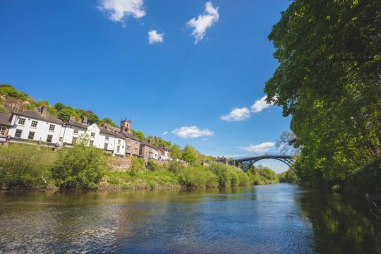 Ironbridge Gorge, at Telford.