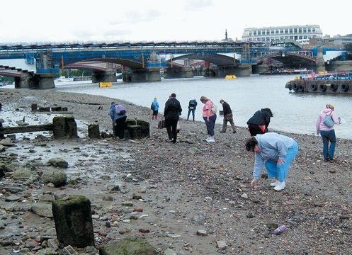 For 200 years, mudlarks scrounged a living in the tidal flats of the River Thames. Today, intertidal archaeology can be a fun London adventure.