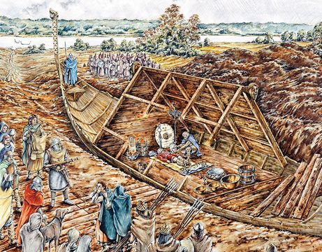 The Saxon ship burial at Sutton Hoo was one of the most important archaeological finds of the 20th century. Today, visit a reconstruction at the site.