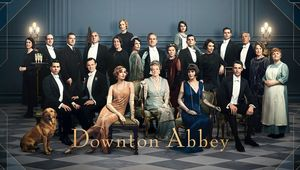 A promo shot for the Downton Abbey movie.