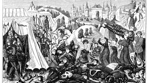 Thumb__vintage_engraving_from_1876_of_showing_the_aftermath_of_the_battle_of_hastings_in_1066__with_people_removing_bodies_from_the_battlefield_