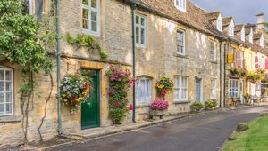 Fosse Way: Stow on the wold in the English Cotswolds
