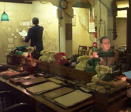 Churchill War Rooms. London.