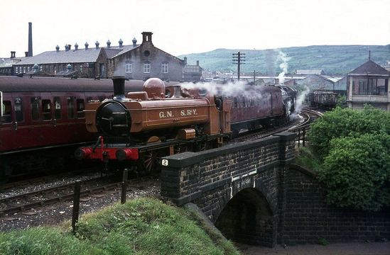 Keighley and Worth Valley Railway which appeared in The Railway Children