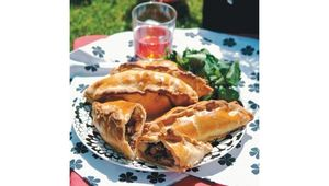 Meat pies in the sun for a great British picnic.