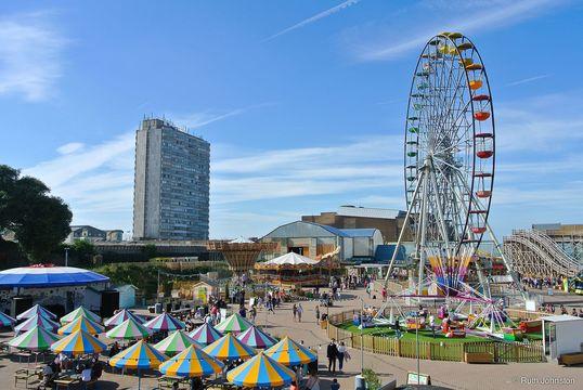 Dreamland amusement park, at Margarate.