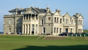 The Old Course at St Andrews, Scotland.