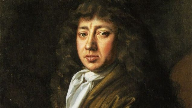 The famous London diarist, Samuel Pepys.