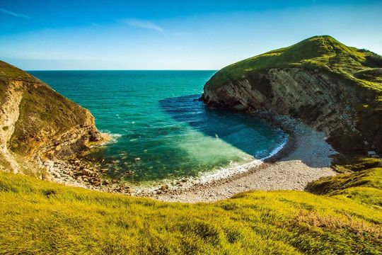 The beautiful coast of Dorset.