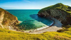 The beautiful coast of Dorset.