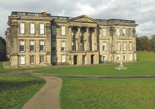 Calke Abbey, the Baroque mansion, in Derby.