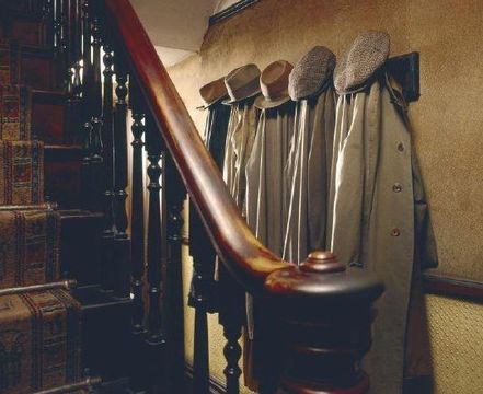 Inside Mr Straw\'s House.