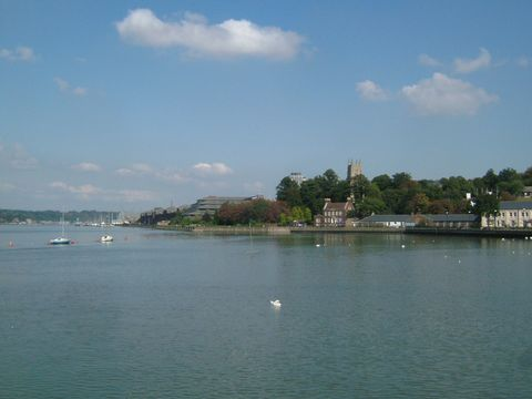 Chatham on River Medway.