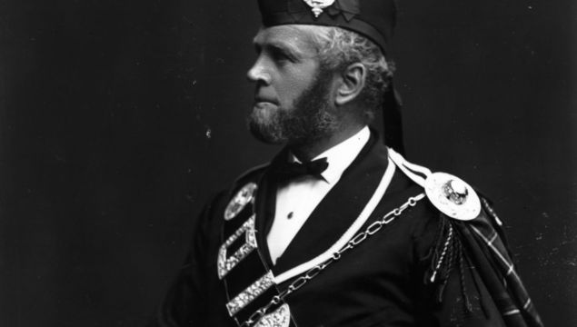 John Brown (1827 - 1883), servant and confidant of Queen Victoria.