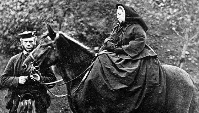 Queen Victoria and her servant John Brown