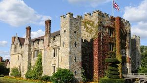 Hever Castle was the home of Anne Boleyn, the second wife of King Henry VIII who was beheaded.